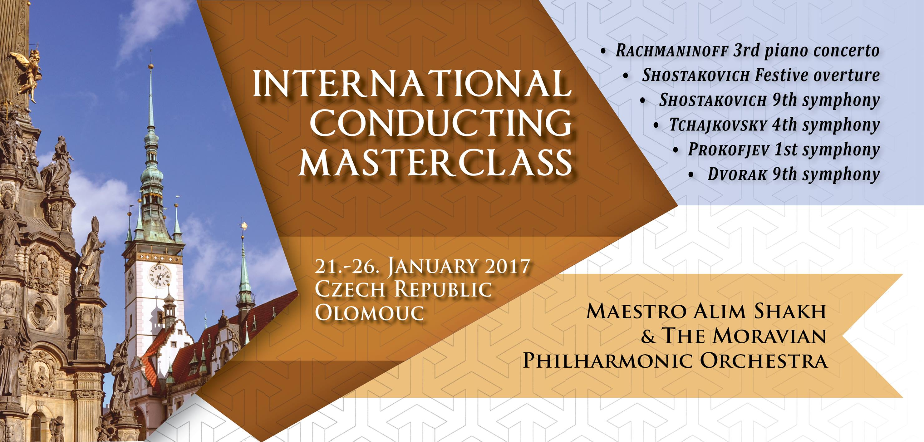 Orchestral conducting masterclass