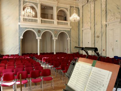 workshop venue - Antonin Dvorak Concert Hall