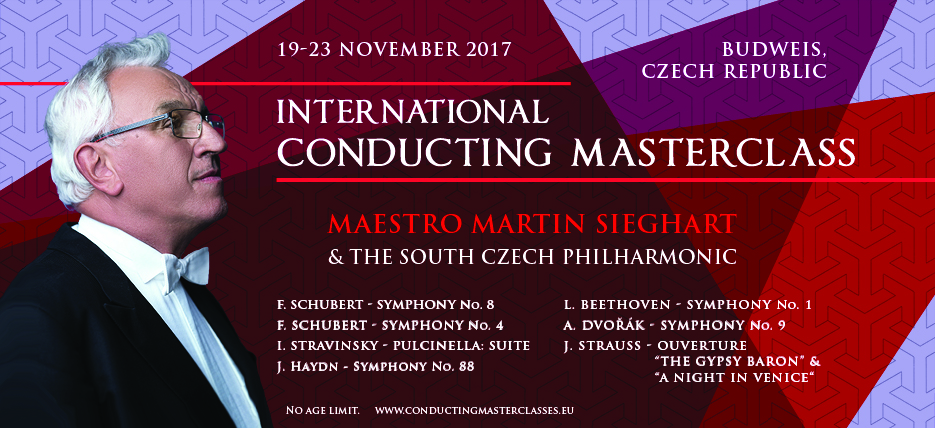 Conducting Masterclass in Budweis