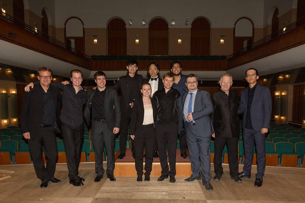 Photo gallery Conducting Masterclass  Olomouc